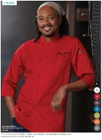 3/4 SLEEVE CHEF COAT