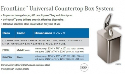 FRONTLINE UNIVERSAL COUNTERTOP BOX SYSTEM