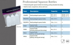 PROFESSIONAL SQUEEZE BOTTLES
