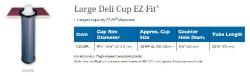 LARGE DELI CUP EZ-FIT