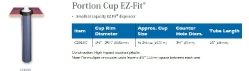 PORTION CUP EZ-FIT