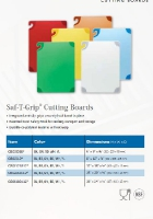 SAF-T-GRIP CUTTING BOARDS