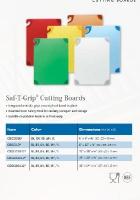 SAF-T-GRIP CUTTING BOARDS