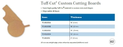 TUFF-CUT CUSTOM CUTTING BOARDS