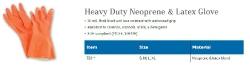 HEAVY DUTY NEOPRENE & LATEX GLOVE