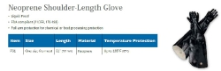NEOPRENE SHOULDER-LENGTH GLOVE