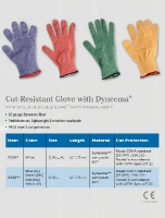 CUT-RESISTANT GLOVE WITH DYNEEMA