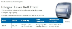 INTEGRA LEVER ROLL TOWEL