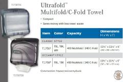 ULTRAFOLD MULTIFOLD / C-FOLD TOWEL