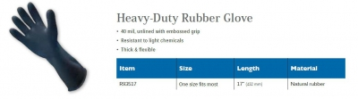 HEAVY-DUTY RUBBER GLOVE