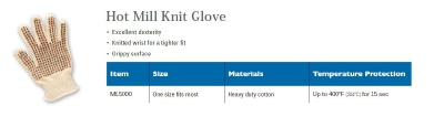 HOT MILL KNIT GLOVE