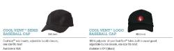 COOL VENT SIDES BASEBALL CAP