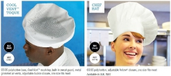 COOL VENT TOQUE CHEF HAT