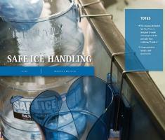 SAFE ICE HANDLING
