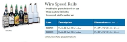 WIRE SPEED RAILS