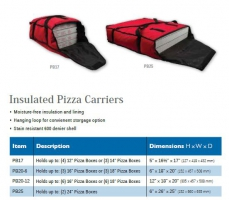 INSULATED PIZZA CARRIERS