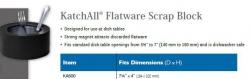 KATCHALL FLATWARE SCRAP BLOCK