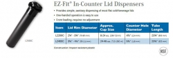 EZ-FIT IN-COUNTER LID DISPENSERS