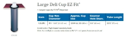 LARGE DELI CUP EZ-FIT