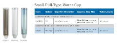 SMALL-PULL-TYPE WATER CUP
