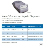 VENUE COUNTERTOP NAPKIN DISPENSER