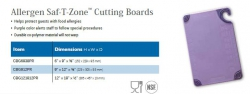 ALLERGEN SAF-T-ZONE CUTTING BOARDS