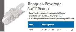 BANQUET BEVERAGE SAF-T-SCOOP