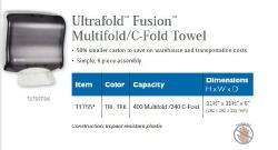 ULTRAFOLD FUSION MULTIFOLD / C-FOLD TOWEL