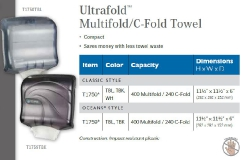 ULTRAFOLD MULTIFOLD / C-FOLD TOWEL