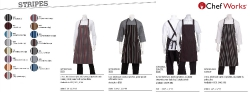 APRONS WITH STRIPES